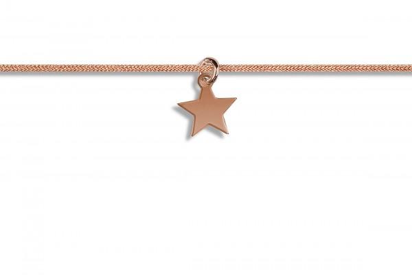 Possum Kettchen Star 925 Sterling Silber rosévergoldet