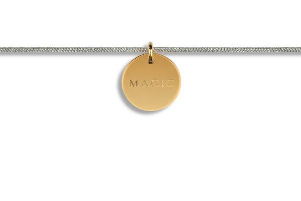 Possum Kettchen Magic 925 Sterling Silber gelbgold vergoldet