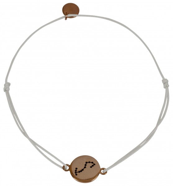 Possum Wunscharmband Skorpion 925 Sterling Silber rosévergoldet
