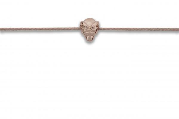 Possum Armbändchen Beetle 925 Sterling Silber rosévergoldet
