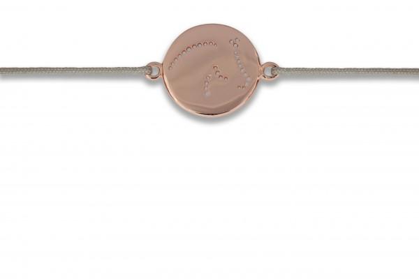 Possum Wunscharmband Cavallo 925 Sterling Silber rosévergoldet