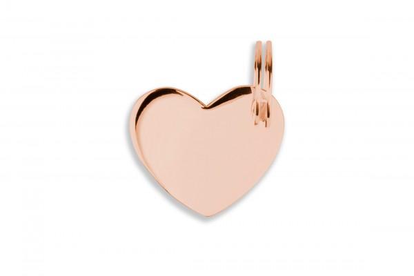 Possum Großer Anhänger Big Heart 925 Sterling Silber