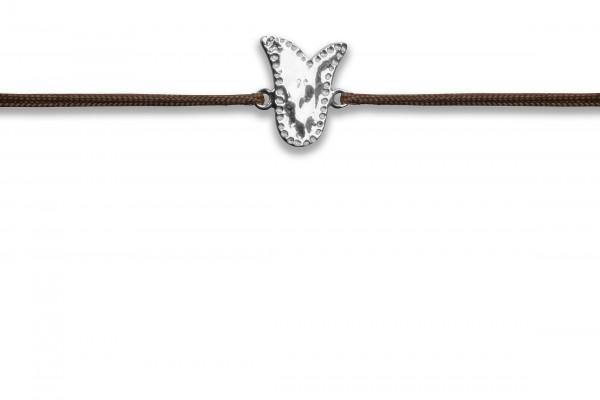 Possum Wunscharmband Cowgirl Bell 925 Sterling Silber rhodiniert