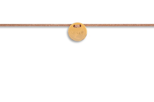 Possum Armbändchen Smile 925 Sterling Silber gelbgold vergoldet