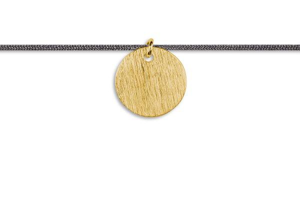 Possum Kettchen Coin 925 Sterling Silber gelbgold vergoldet