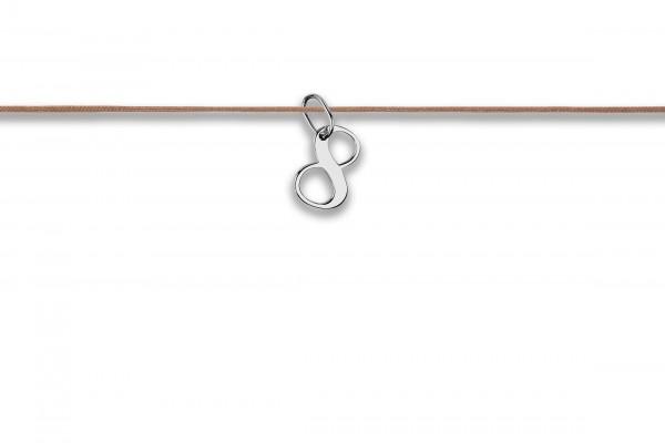 Possum Langes Kettchen That´s my Number 8 925 Sterling Silber