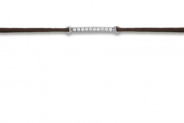 Possum Wunscharmband Crystal 925 Sterling Silber rhodiniert