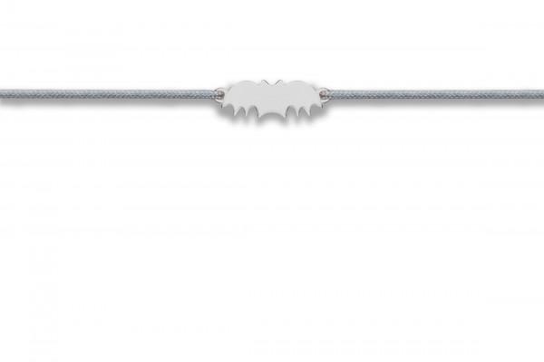 Possum Wunscharmband Bat 925 Sterling Silber silber rhodiniert