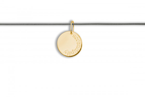 Possum Langes Kettchen Serendipity 925 Sterling Silber gelbgold vergoldet