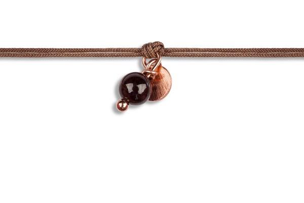 Possum Wunscharmband Pearl 925 Sterling Silber rosévergoldet