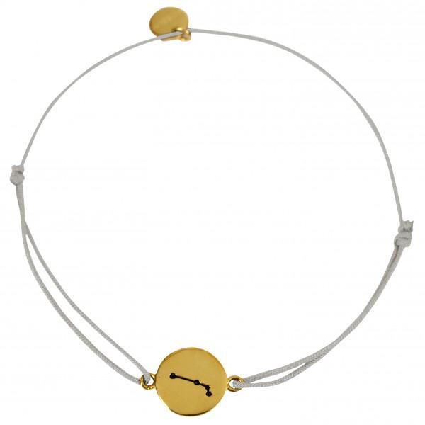 Possum Wunscharmband Widder 925 Sterling Silber gelbgold vergoldet