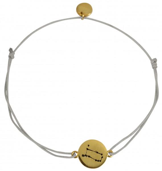 Possum Wunscharmband Zwilling 925 Sterling Silber gelbgold vergoldet