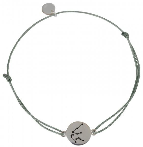 Possum Wunscharmband Wassermann 925 Sterling Silber rhodiniert