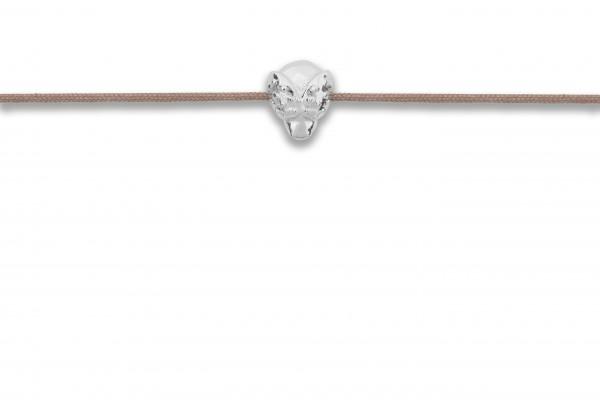 Possum Armbändchen Beetle 925 Sterling Silber rhodiniert