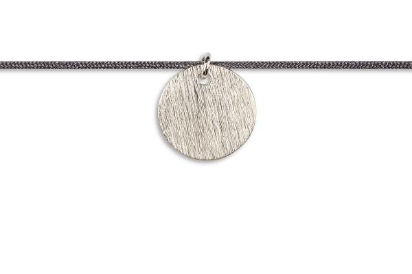 Possum Kettchen Coin 925 Sterling Silber rhodiniert