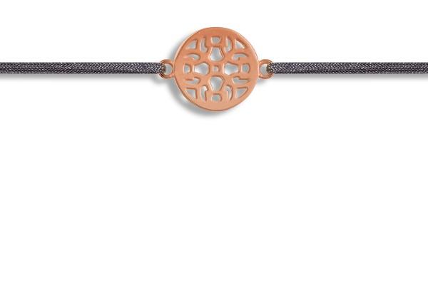 Possum Wunscharmband Ornament 925 Sterling Silber rosévergoldet