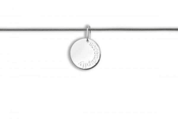 Possum Langes Kettchen Serendipity 925 Sterling Silber rhodniert