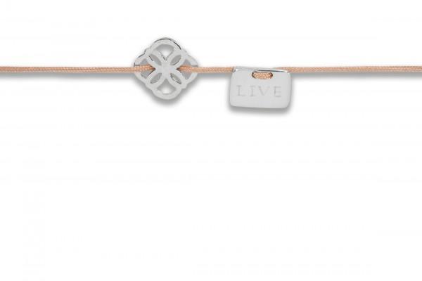 Possum Armbändchen Ornament - Live 925 Sterling Silber rhodiniert