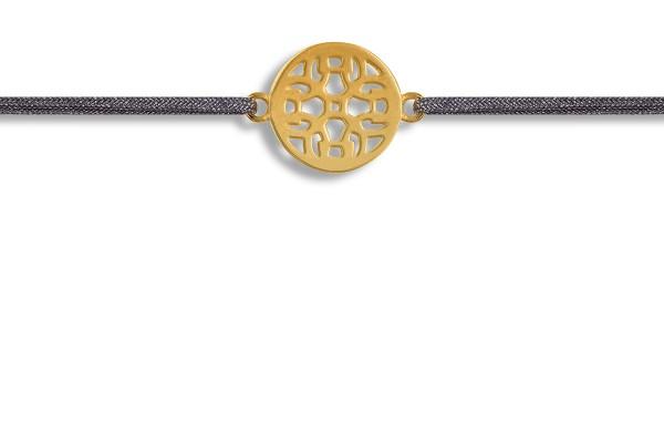 Possum Wunscharmband Ornament 925 Sterling Silber gelbgold vergoldet
