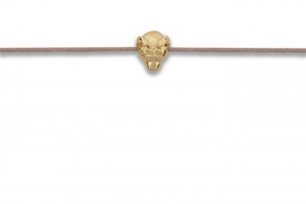 Possum Armbändchen Beetle 925 Sterling Silber gelbgold vergoldet