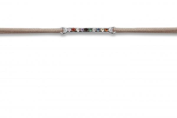 Possum Wunscharmband Rainbow 925 Sterling Silber rhodiniert