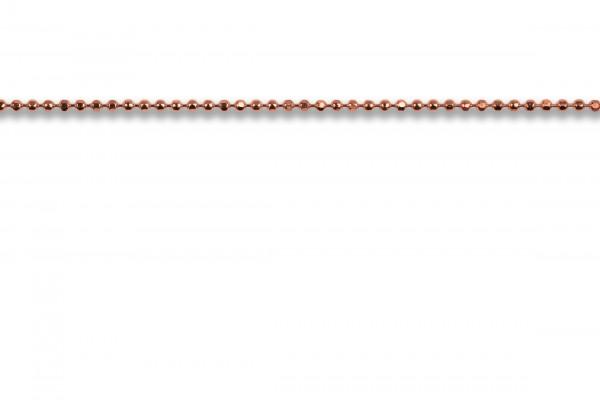 Possum Chokerkette Ball 925 Sterling Silber 35cm
