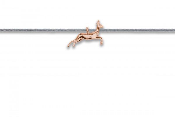 Possum Langes Kettchen Bambi 925 Sterling Silber rosévergoldet