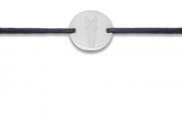 Possum Wunscharmband Horse 925 Sterling Silber rhodiniert
