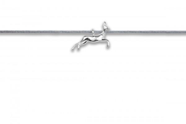 Possum Langes Kettchen Bambi 925 Sterling Silber rhodiniert